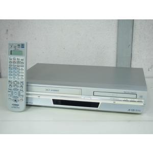 【中古】JVC Victorビクター DVDプレーヤー一体型VHSハイファイビデオ HR-DV4 ビデオデッキ