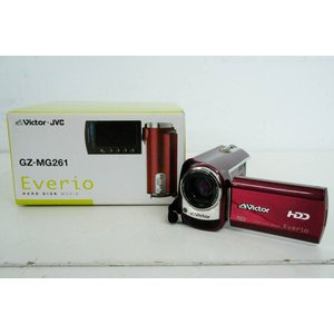 中古 JVC Victorビクター エブリオEverio ビデオカメラ GZ-MG261 60GB ...