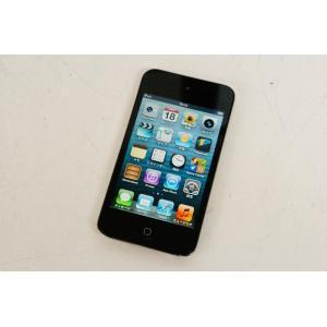 中古 Appleアップル iPod touch ブラック 第4世代 MC547J/A 64GB