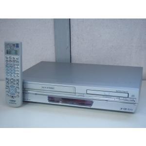 #【中古】JVC Victorビクター DVDプレーヤー一体型VHSハイファイビデオ HR-DV3 ビデオデッキ