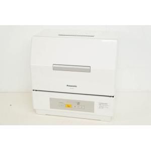 中古 Panasonicパナソニック 食器洗い乾燥機 NP-TCR4-W プチ食洗 ECONAVIエ...