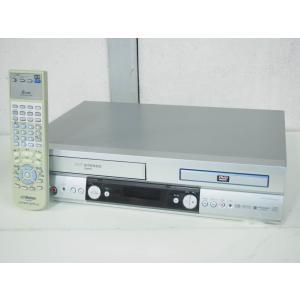 #【中古】JVC Victorビクター DVDプレーヤー一体型VHSハイファイビデオ HR-DV1 ビデオデッキ