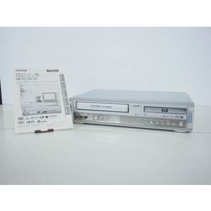 中古ワケ有り 三洋SANYO DVDプレーヤー一体型ビデオテープレコーダー ビデオデッキ VZ-DV1G ダブルクルーザー