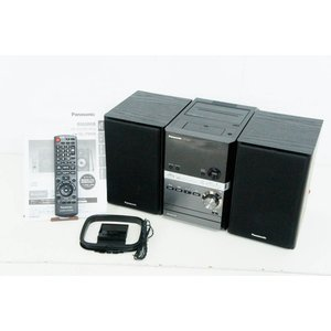 中古 Panasonicパナソニック CDステレオシステム D-dock CD/USB/iPod/カ...