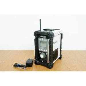 中古 makitaマキタ バッテリー式ラジオ 直流18V MR100W バッテリー無し