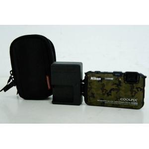 中古 ニコンNIKON コンパクトデジタルカメラ COOLPIXクールピクス 1600万画素 AW1...