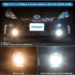 フィリップス 車検対応 LEDフォグバルブ X-treme Ultinon LEDFog 6000K H8/11/16 対応 3年保証|snet|02