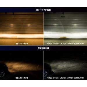 フィリップス 車検対応 LEDフォグバルブ X-treme Ultinon LEDFog 6000K H8/11/16 対応 3年保証|snet|03