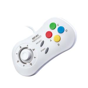 【NEOGEO mini周辺機器】 NEOGEO miniにつなげて使用するコントローラー(ホワイト...