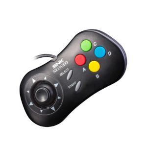 【NEOGEO mini周辺機器】 NEOGEO miniにつなげて使用するコントローラー(ブラック...