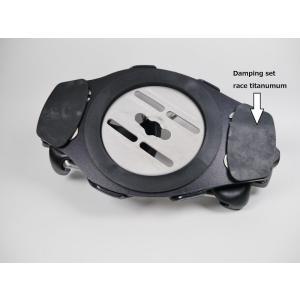Damping set titanium F2 ハードビンディング・スペアーパーツ RACE TITANIUM/INTEC TITANIUM 用