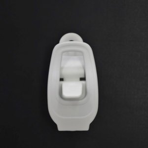 アンクル側(足首側)専用 無地ラチェットバックル 1個  ■COLOR : WHITE  ■サイズ ...
