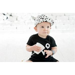 帽子 キッズ キャップ 男の子 女の子 兼用 51〜52cm サイズ調整 可能 Davil's Ear Cap|snowkmu1