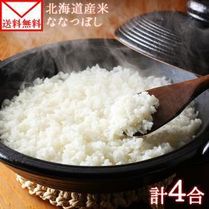 ポイント消化 米  北海道産 ななつぼし 2袋 600g  お取り寄せ メール便 セール|snowland