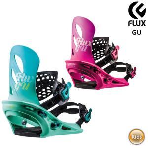 18-19 2019 FLUX フラックス GU ビンディング スノーボード レディース ユース キ...
