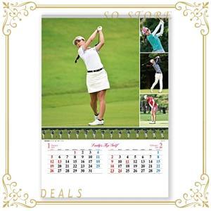 新日本カレンダー 2020年 カレンダー 壁掛け レディス・トップゴルフ NK127