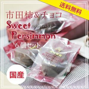 市田柿 スイートパーシモン 送料無料 干し柿 チョコレート 市田柿をチョコで包みました so-suke