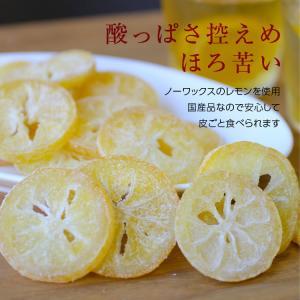 ドライフルーツ 国産 レモン 大袋 105g 輪切り 皮まで美味しい 酸味控えめ ポイント消化 ドライレモン 南信州菓子工房 ギフト ヨーグルトに|so-suke|12