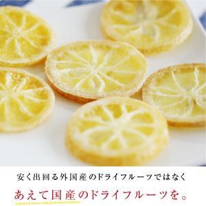 ドライフルーツ 国産 レモン 大袋 105g 輪切り 皮まで美味しい 酸味控えめ ポイント消化 ドライレモン 南信州菓子工房 ギフト ヨーグルトに|so-suke|04