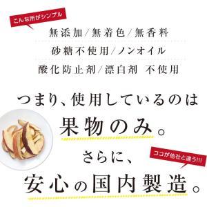 ドライフルーツ 砂糖不使用 無添加 国産 りんご 50g 送料無料 ドライりんご リンゴ 長野 お菓子 おやつ ヨーグルト プチギフト|so-suke|09