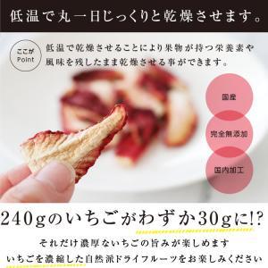 ドライフルーツ 砂糖不使用 無添加 国産 いちご 30g ドライいちご 苺 お菓子 おやつ ヨーグルトに かわいい プチギフト|so-suke|06