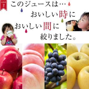 ジュース ギフト 100% 果物ジュース 200ml 8本 送料無料 詰合せ りんご 桃 ぶどう ラフランス 国産 お中元 お歳暮 内祝 出産内祝い|so-suke|08