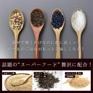雑穀米 私の三十三雑穀 送料無料 スーパーフード配合 1000円ポッキリ 雑穀 もち麦 キヌア チアシード|so-suke|08