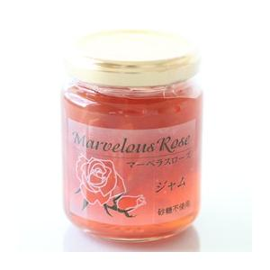 バラジャム 国産 薔薇をそのままジャムに 無着色 無香料 砂糖不使用 自分へのご褒美 大切な方へ プレゼント|so-suke|02