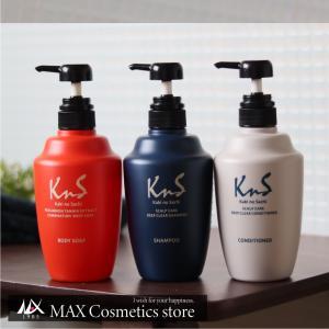 【KnS】 体臭 加齢臭 対策 薬用 ボディソープ スカルプシャンプー コンディショナー メンズ まとめ 柿のさち | KnS薬用柿渋オールセットB(ボディ+シャン+コンデ)|soapmax