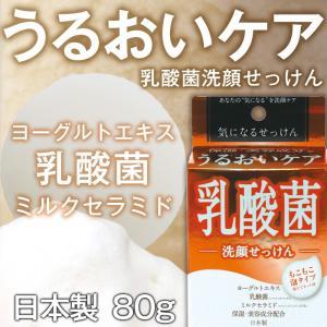 気になる洗顔石けん 乳酸菌 KNY|soapmax