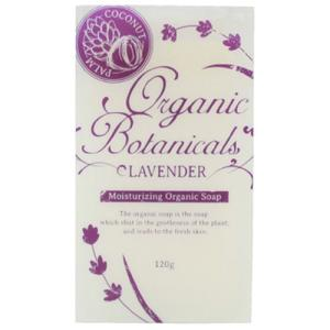 オーガニックボタニカルズ洗顔ソープ ラベンダー ハーバル・ラベンダーの香り|soapmax