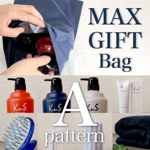 MAXコレクションギフト MAXセット 加齢臭 体臭 対策 薬用 柿渋 ボディソープ シャンプー コンディショナー ハミガキ粉 スカルプブラシ ボディタオル 柿のさち|soapmax