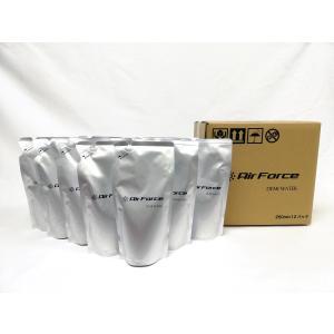 エアフォースデミ専用水 250ml 12袋空間除菌水成二酸化塩素 除菌 ウィルス対策 ドライミスト噴霧器 超音波 消臭|soaptenten