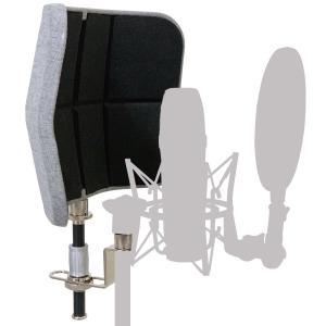 クリアな録音に! KIKUTANI キクタニ マイク用 金属製 リフレクションフィルター RF-01 mini レコーディングに|soarsound