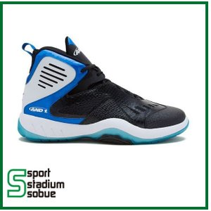 AND1  ALPHA 2004MBM D2004MBMW Black/Royal/White  バスケットボールシューズ アンドワン アルファ バッシュ|sobuesports