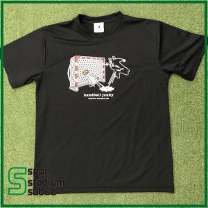 HANDBALL JANKY(ハンドボールジャンキー) スピンシュート Tシャツ HJ18002-02 ブラック