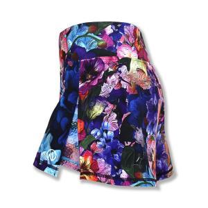 INKnBURN Women's Flower Power Sport Skirt スポーツスカート ウィメンズ ランニングウェア インクアンドバーン インクンバーン