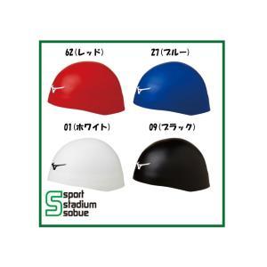 mizuno(ミズノ) FINA承認 シリコーンキャップ GX・SONIC HEAD PLUS 少し小さめタイプ N2JW8001|sobuesports