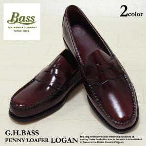G.H バス G.H Bass ペニーローファー ローガン ビジネスシューズメンズ(ghb04)