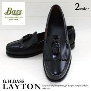 G.H. バス G.H. BASS LAYTON レイトン キルト タッセル ローファー ドレスシューズ メンズ(ghb07) セール