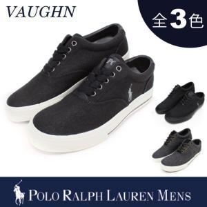 【期間限定特別価格】 ポロ ラルフローレン メンズ POLO Ralph Lauren ボーン VAUGHN ポニー ロゴ スニーカー|socalworks