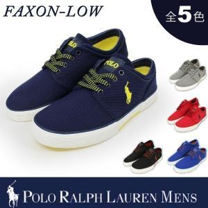 【期間限定特別価格】 ポロ ラルフローレン メンズ POLO Ralph Lauren ファクソンロー オーバルメッシュ スニーカー|socalworks