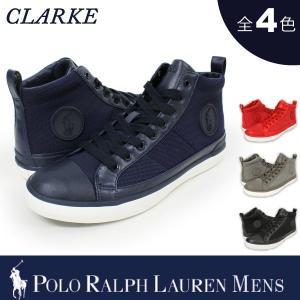 【期間限定特別価格】 ポロ ラルフローレン メンズ POLO Ralph Lauren クラーク CLARKE オーバルメッシュ スニーカー|socalworks