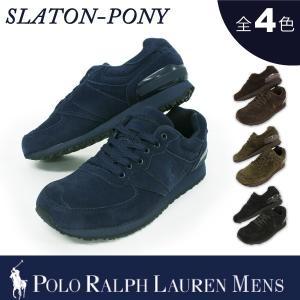 【期間限定特別価格】 ポロ スポーツ ラルフローレン メンズ POLO Ralph Lauren SLATON PONY ポニー スニーカー|socalworks