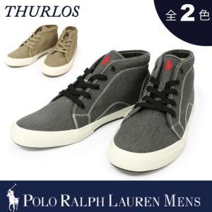 【期間限定特別価格】 ポロ ラルフローレン メンズ POLO Ralph Lauren MEN'S スニーカー THURLOS シューズ 靴|socalworks