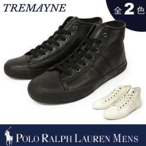 【期間限定特別価格】 ポロ ラルフローレン メンズ POLO Ralph Lauren MEN'S スニーカー トレメイン TREMAYNE|socalworks