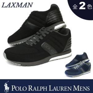ポロ ラルフローレン メンズ  POLO Ralph Lauren MEN'S スニーカー ラックスマン LAXMAN テック スエード ワッフル メッシュ ランニング スポーツ シューズ 靴|socalworks