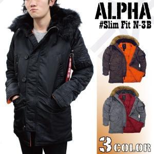 アルファ ALPHA INDUSTRIES Slim Fit N-3B スリムフィット フライト ジャケット  ミリタリー ジャケット メンズ ( 男性用 ) ( MJN31210C1 ) socalworks