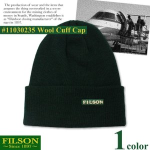 【期間限定特別価格】 フィルソン FILSON ウール カフ キャップ WOOL CUFF CAP ニット 帽子 ワッチ ビーニー|socalworks