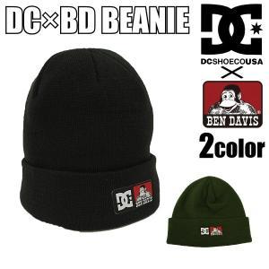 【2,000円ポッキリ!!】ディーシーシューズ DC SHOES ベンデイビス BEN DAVIS コラボ ニットキャップ DC×BD BEANIE ビーニー ワッチキャップ|socalworks